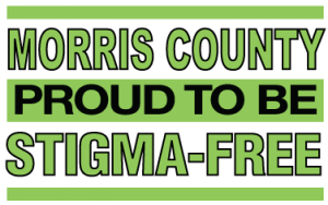Morris County Proud to be Stigma-Free logo