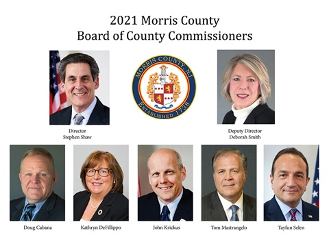 2021 Morris County Board of County Commissioners